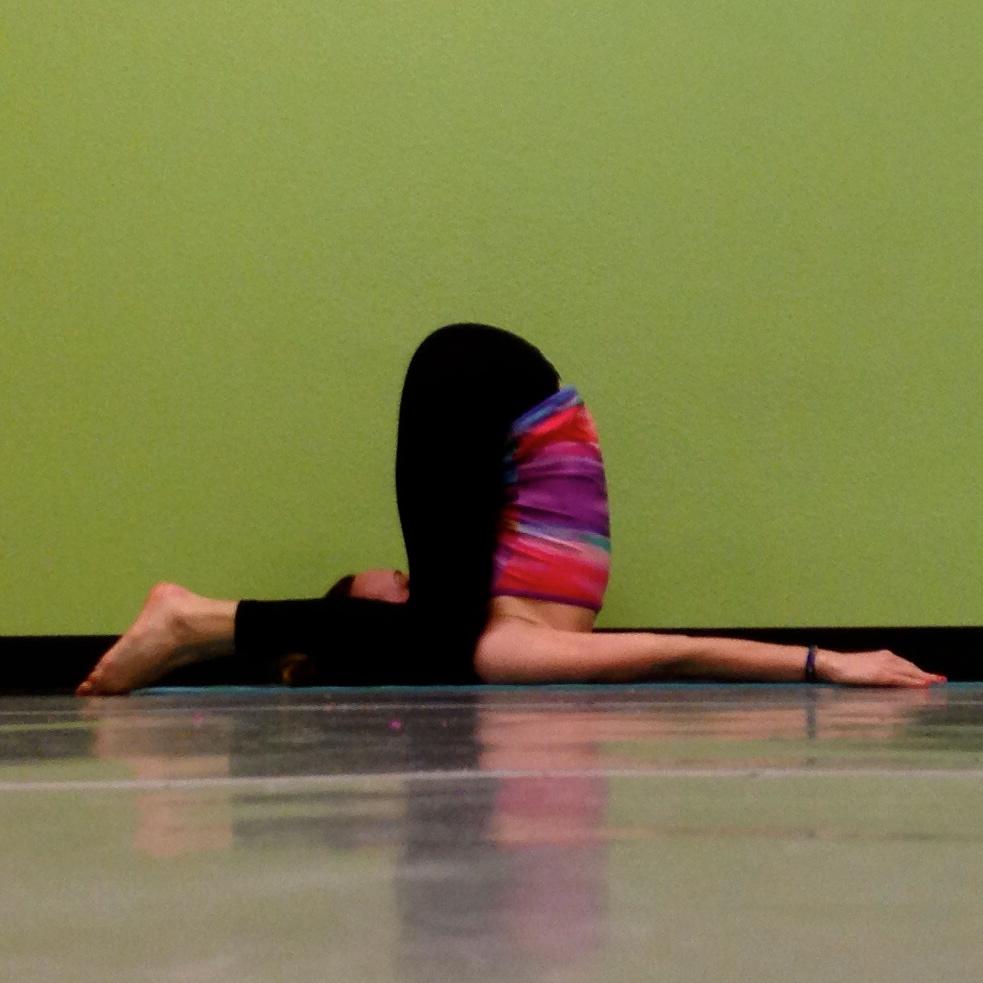 The Snail Pose in Yin Yoga