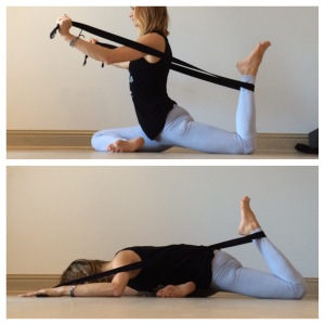 yin yoga  strap sequence  nancy nelson  yoga  wellness