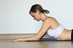 Sphinx Pose - Elbows Forward