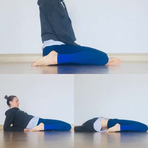 Hip Flexor Stretches - Reclined Deer